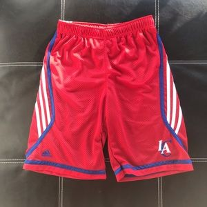 Adidas LA Clippers nba basketball shorts